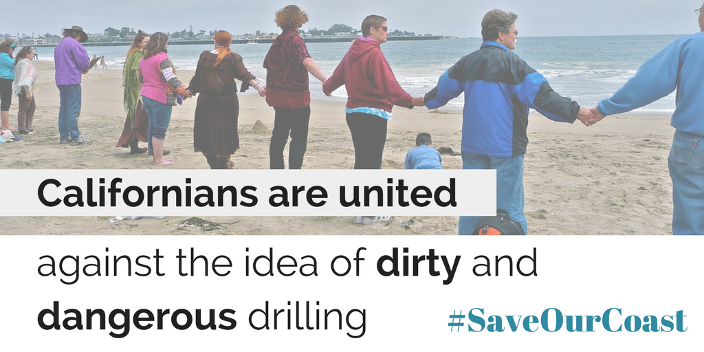 Press Release // Offshore Oil Drilling in California